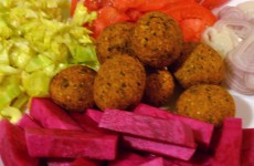 tasty falafel ingredients