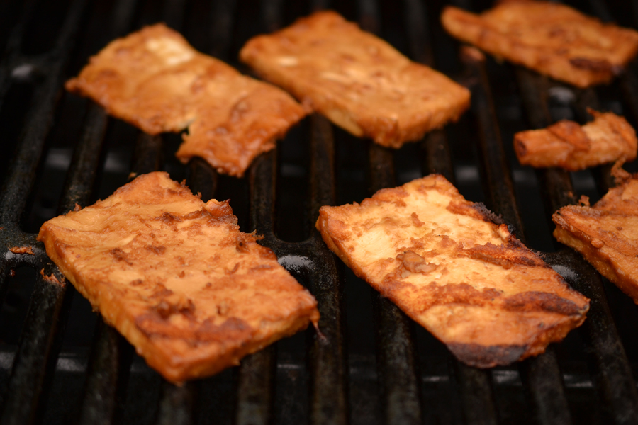 tofu, grill style